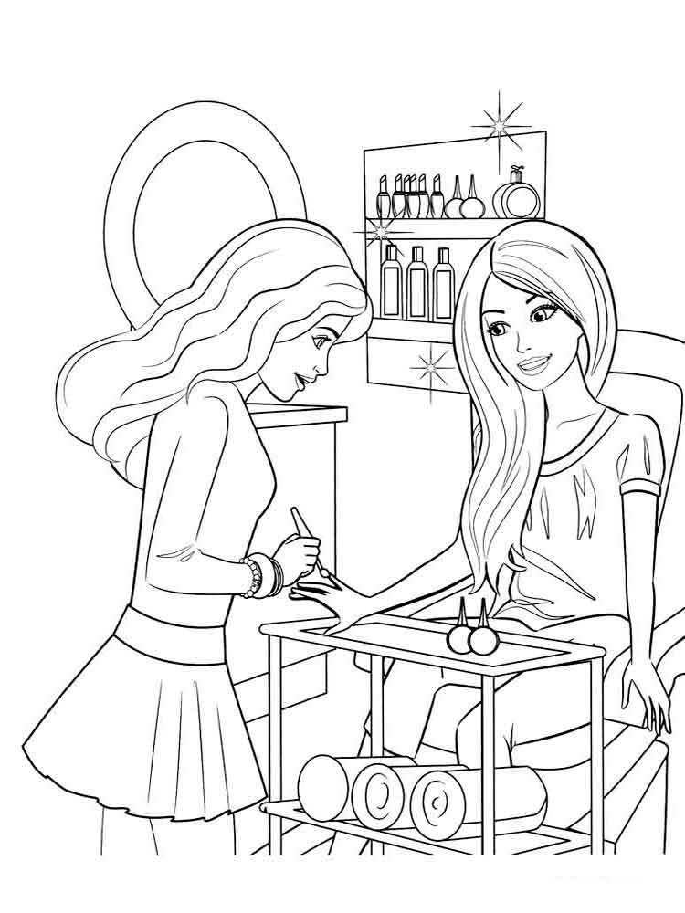 barbie pictures to colour and print 40 barbie coloring pages for kids and to colour barbie pictures print