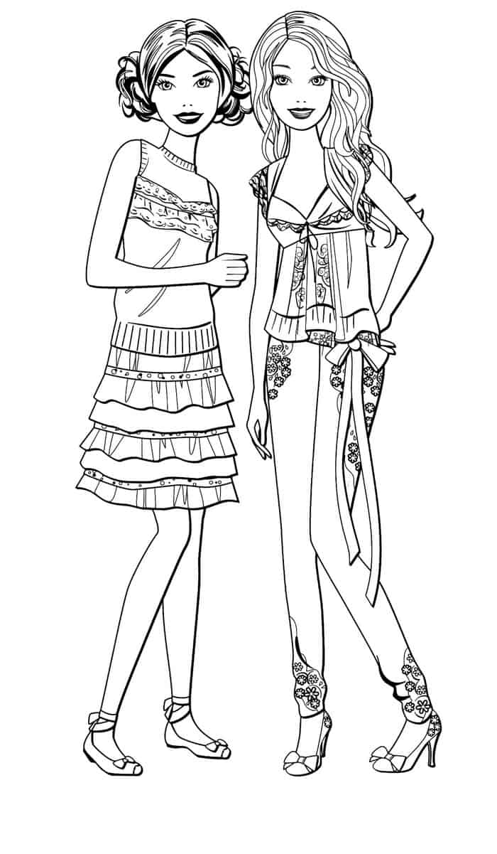 barbie pictures to colour and print coloring pages barbie free printable coloring pages barbie to pictures and colour print