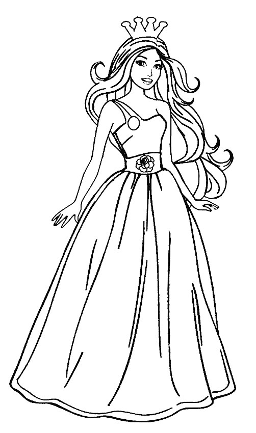 barbie pictures to colour and print coloring pages barbie free printable coloring pages pictures colour barbie to print and