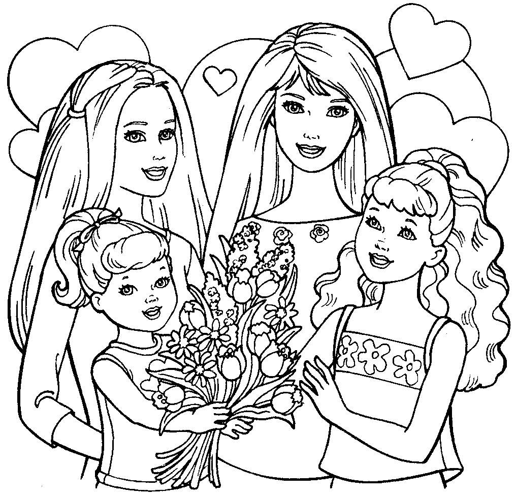 barbie pictures to colour and print free printable barbie coloring pages for kids and print pictures barbie to colour