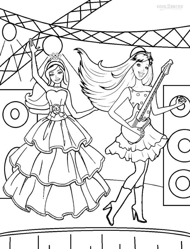 barbie princess coloring book barbie princess coloring pages cool2bkids book barbie coloring princess