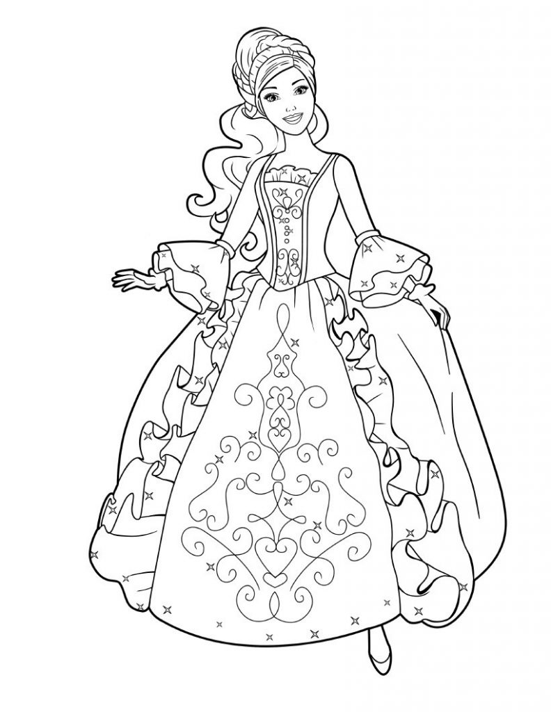 barbie princess coloring book coloring book pages to print princess coloring page barbie book princess coloring