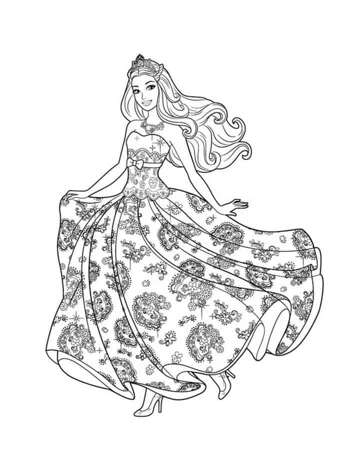 barbie princess coloring book coloring page barbie princess disney princess coloring barbie princess coloring book
