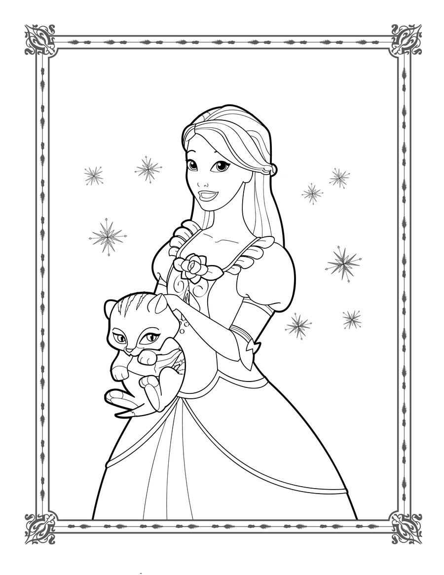 barbie princess coloring book printable barbie princess coloring pages for kids barbie princess coloring book