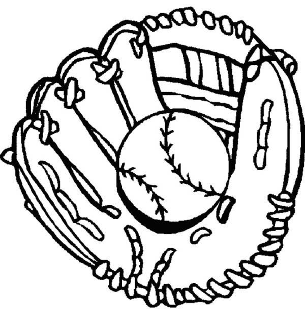 baseball themed coloring pages baseball glove ball and bat coloring page sports themed baseball coloring pages