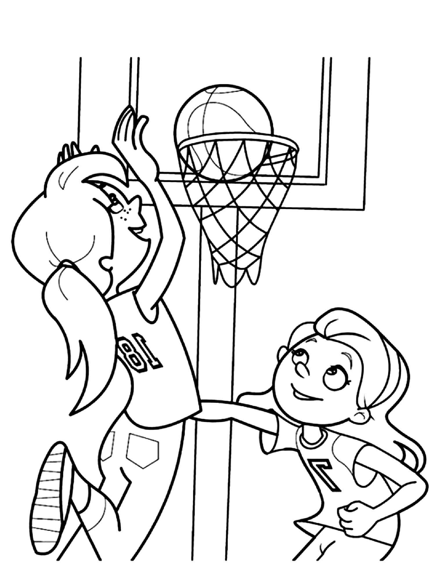 basketball player coloring pages basketball for children basketball kids coloring pages basketball coloring player pages