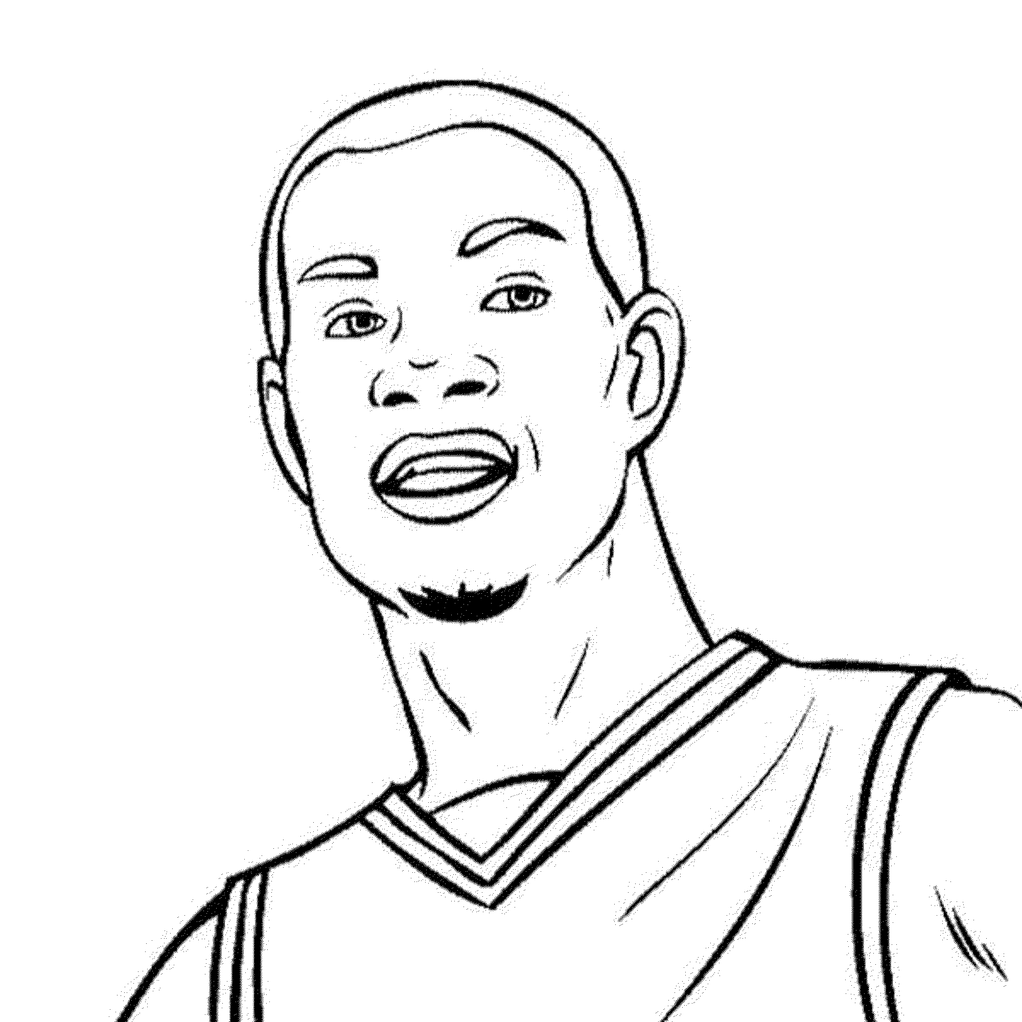 basketball player coloring pages basketball player drawing at getdrawings free download basketball coloring pages player