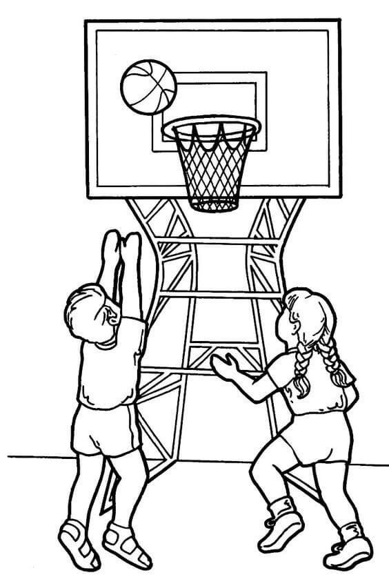 basketball player coloring pages basketball player dunking coloring pages coloring page blog player coloring basketball pages