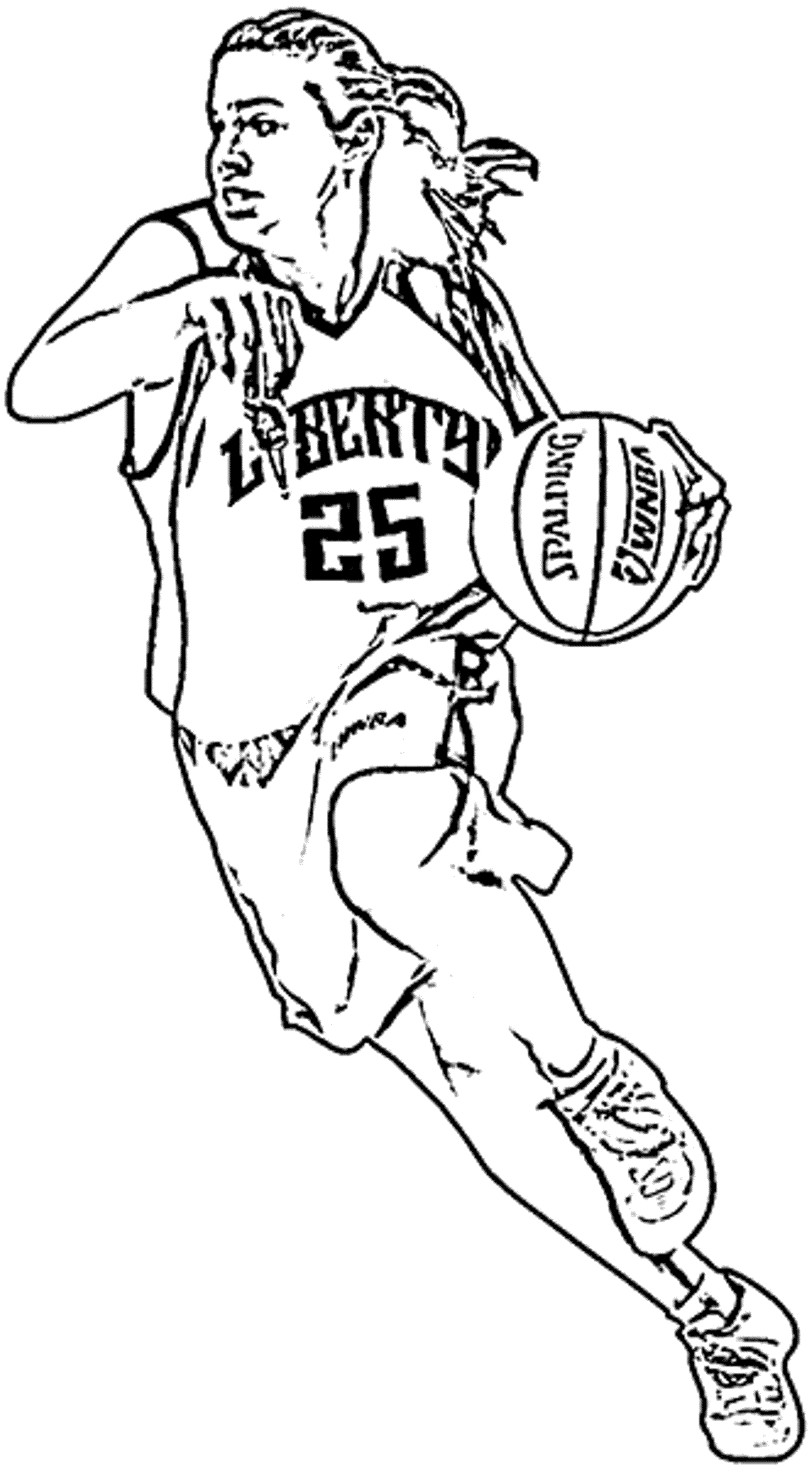 basketball player coloring pages big boss basketball coloring pictures basketball players coloring basketball pages player