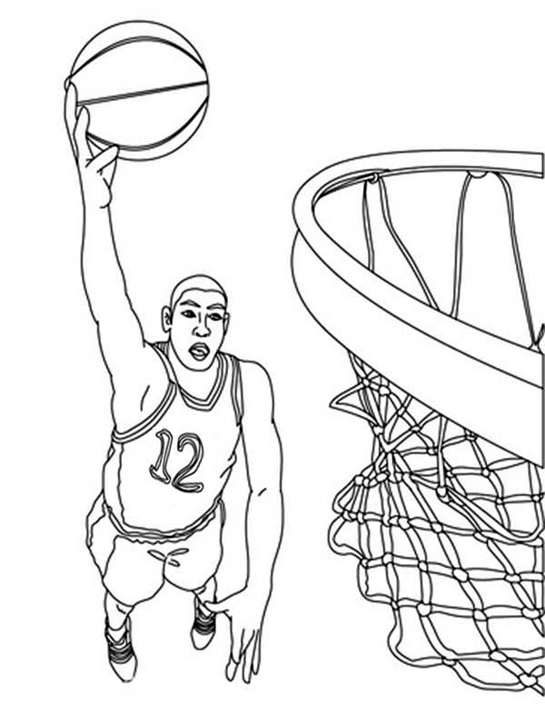 basketball player coloring pages coloring activity pages kids playing basketball player pages coloring basketball