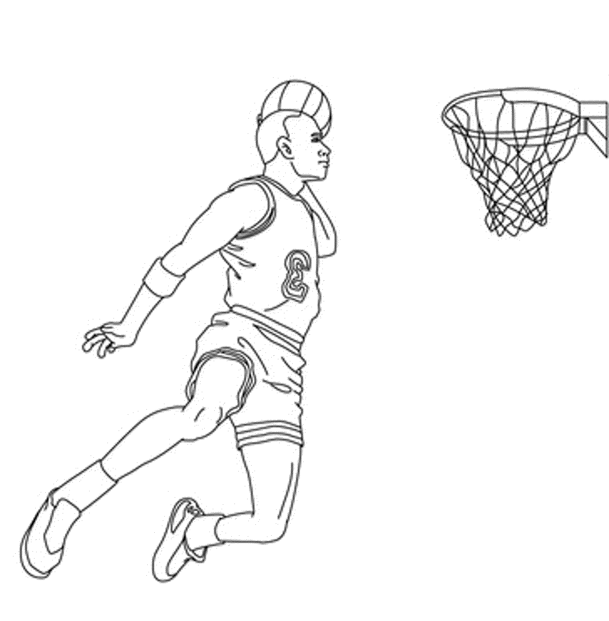 basketball player coloring pages print download interesting basketball coloring pages basketball coloring player pages