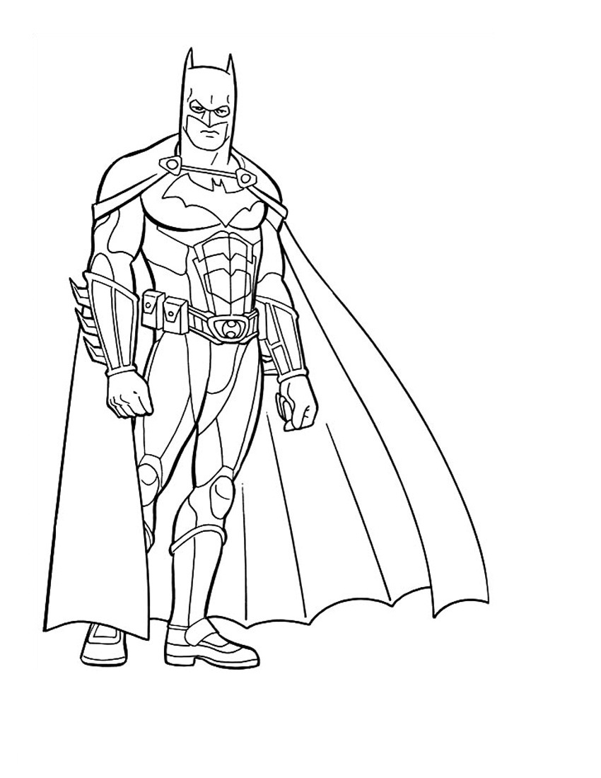 batman colouring in pictures free printable batman coloring pages for kids in batman colouring pictures
