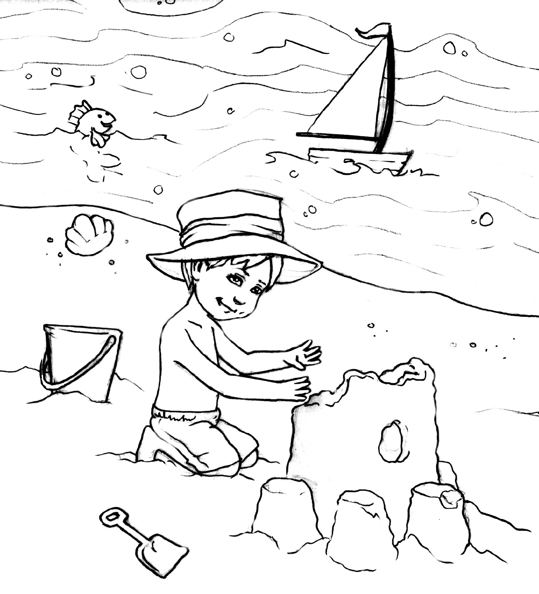 beach coloring pages beach coloring pages doodle art alley coloring pages beach
