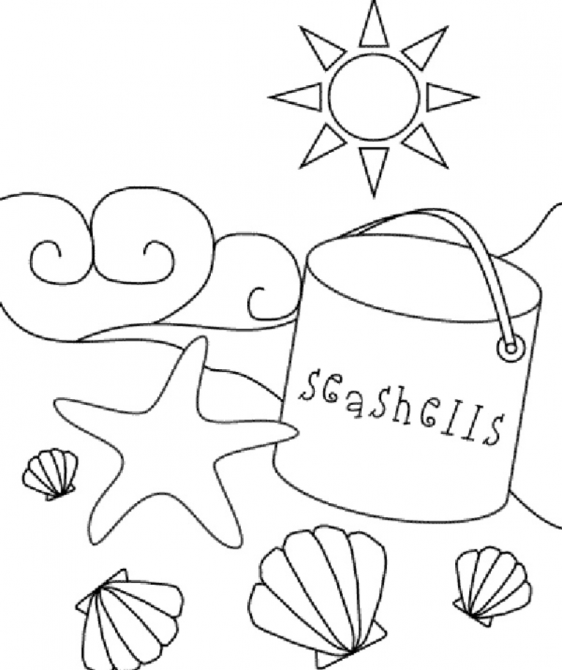 beach coloring pages free printable beach coloring pages for kids beach coloring pages 1 1