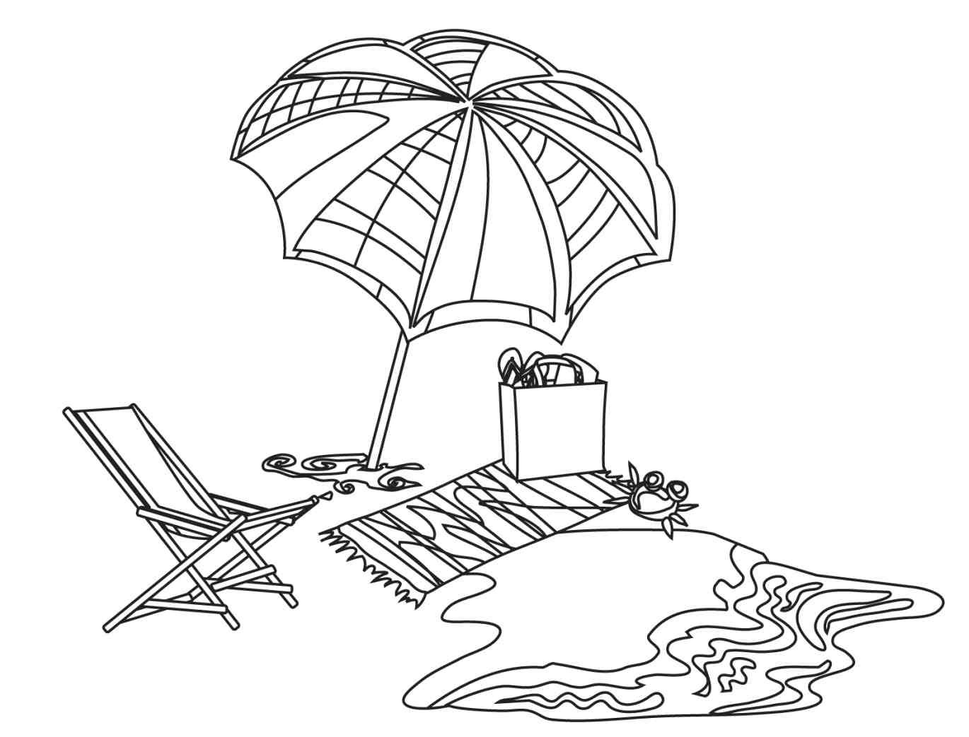 beach coloring pages free printable beach coloring pages for kids coloring pages beach
