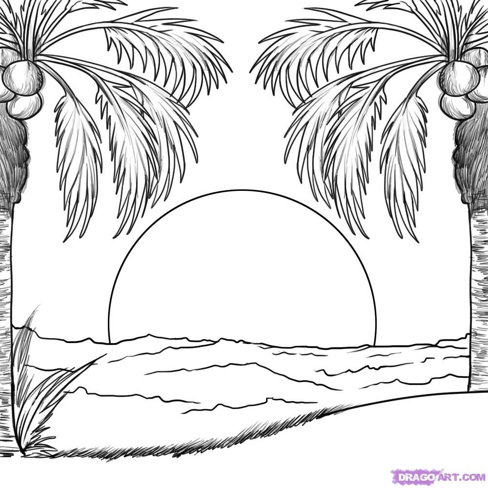 beach coloring template fun coloring pages beach coloring pages beach template coloring
