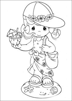 beach precious moments coloring pages coloring pages september 2010 coloring beach moments pages precious
