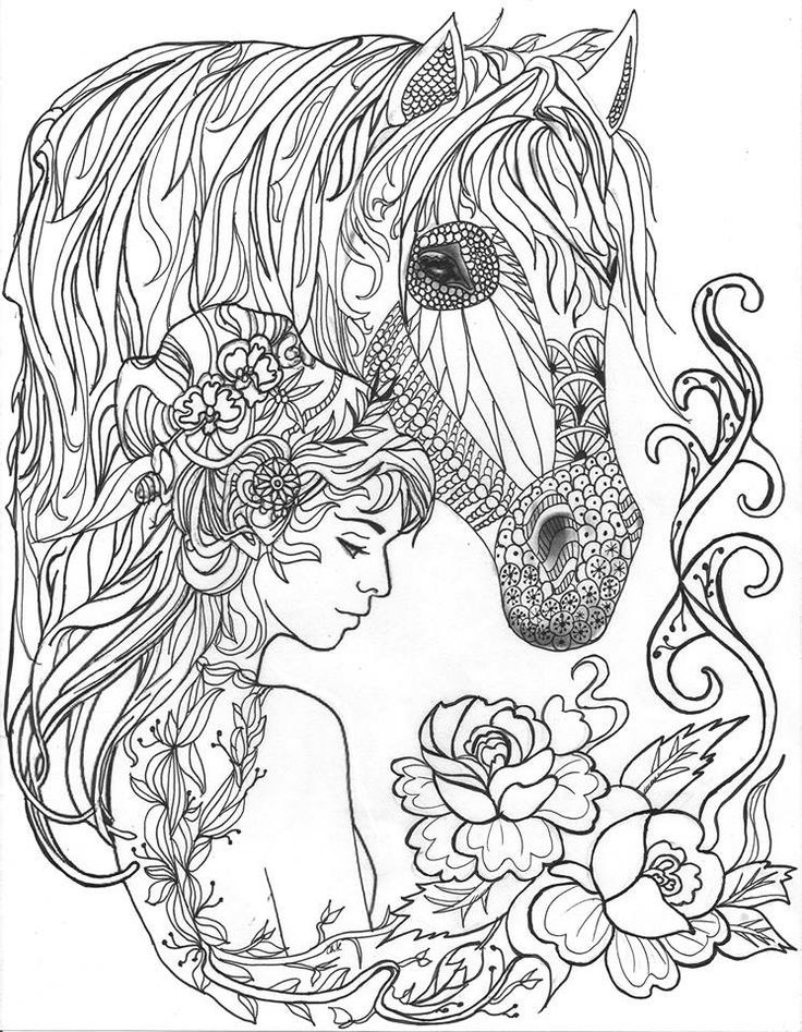 beautiful horse coloring pages horse with patterns free to color for children horses horse beautiful pages coloring