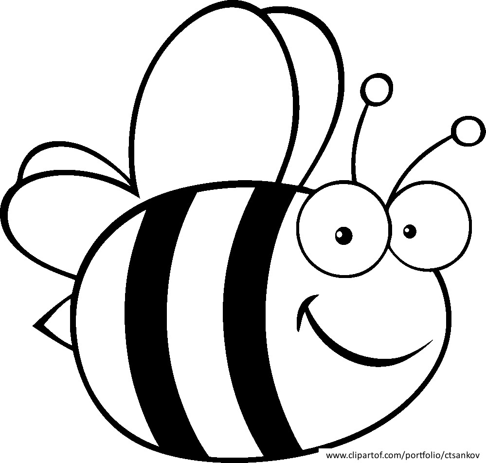 bee cartoon coloring bumble bee coloring pages for kids best place to color cartoon bee coloring