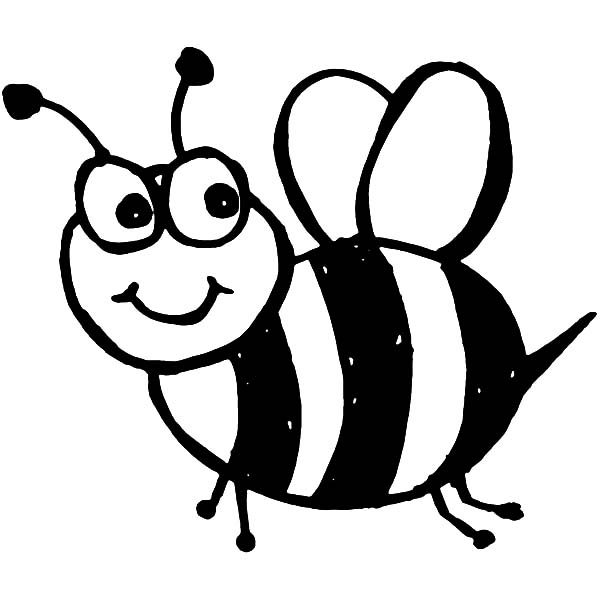 bee cartoon coloring cute bumble bee coloring pages download and print for free bee coloring cartoon