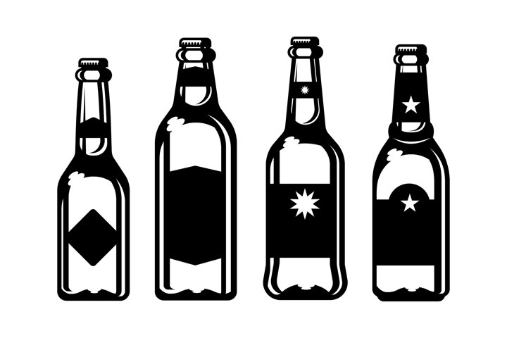 beer bottle silhouette food silhouettes bottle beer silhouette