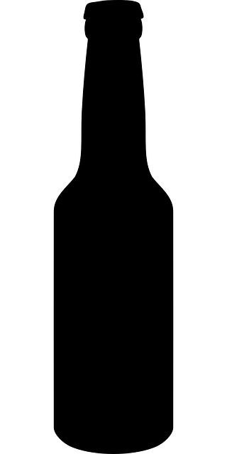 beer bottle silhouette free image on pixabay bottle beer silhouette black beer bottle silhouette
