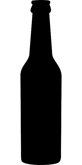 beer bottle silhouette free vector graphic bottle beer bottle alcohol free silhouette beer bottle