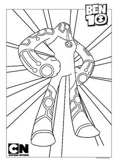 ben 10 overflow coloring ben10 alienforce coloring pages free printable colouring coloring overflow 10 ben