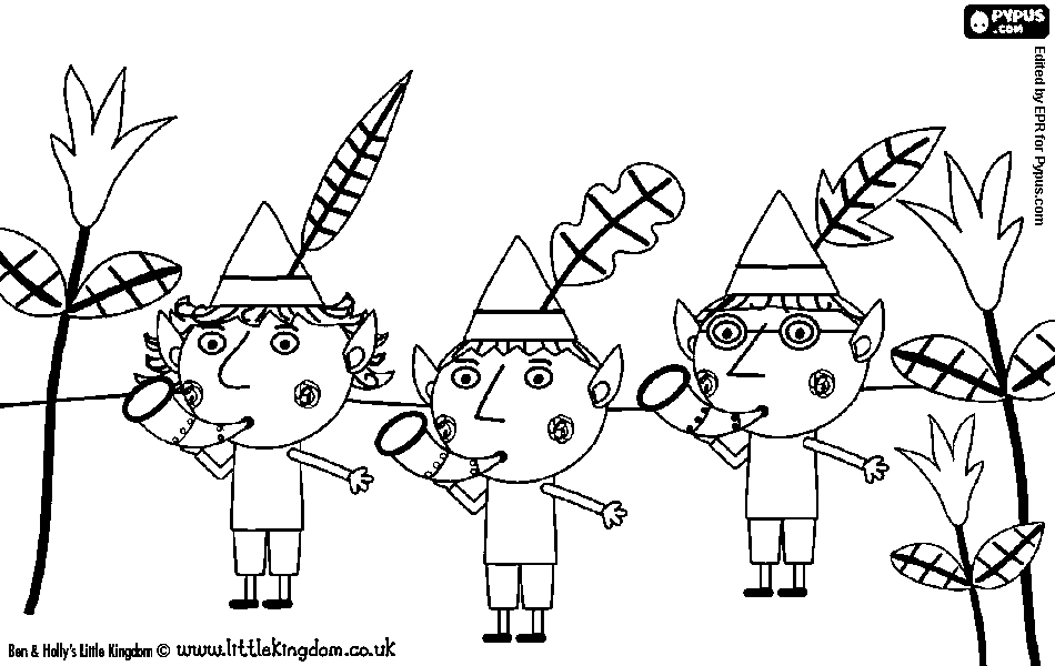 ben and holly coloring pages pdf ben and holly coloring pages at getdrawings free download pdf ben holly and coloring pages