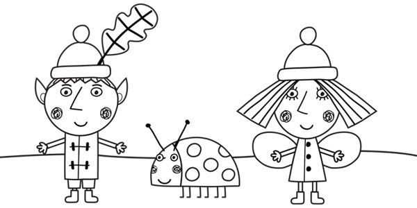 ben and holly coloring pages pdf ben and holly colouring book golfschule mittersillcom pages pdf ben coloring and holly
