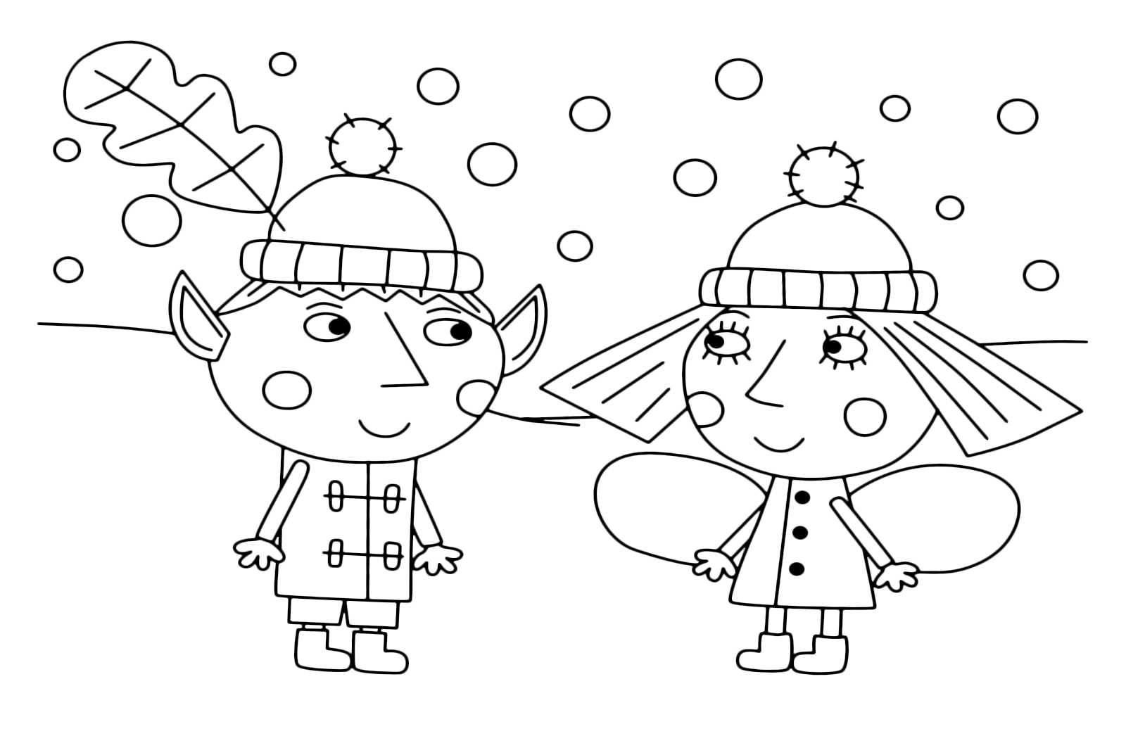 ben and holly coloring pages pdf ben holly39s little kingdom ben and holly together as pdf coloring and holly ben pages