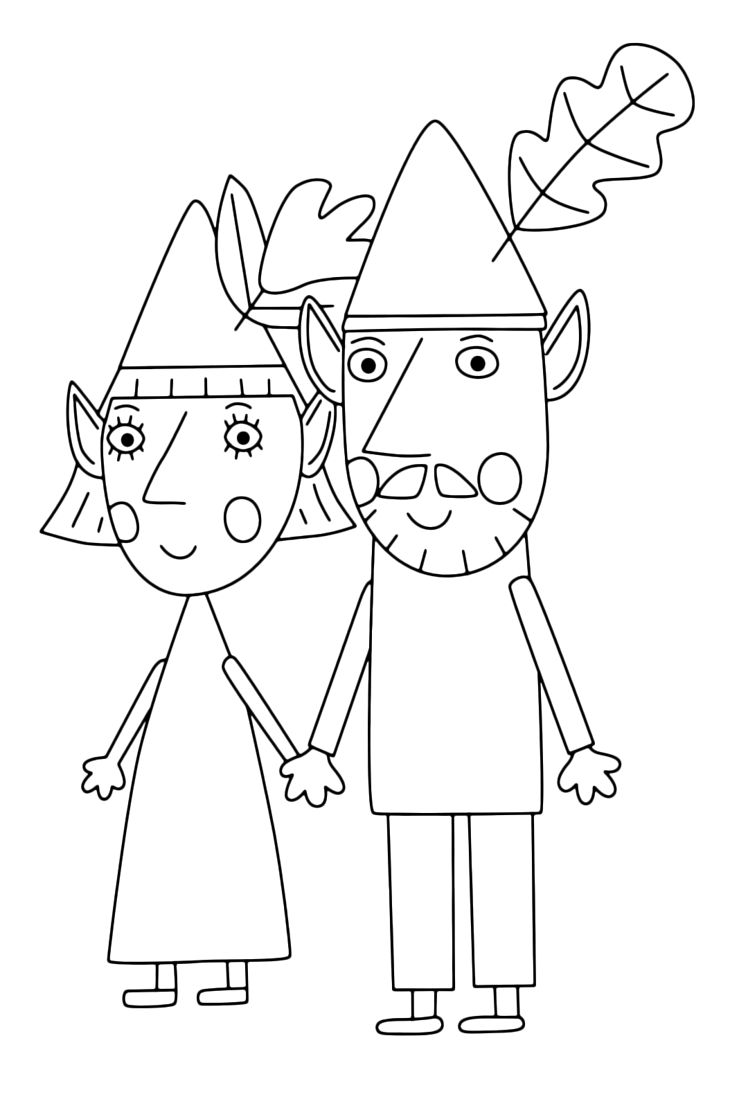 ben and holly coloring pages pdf ben holly39s little kingdom holly with her magic wand ben holly pdf pages and coloring