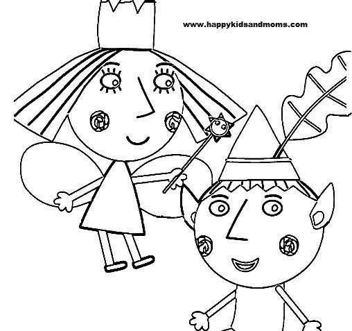 ben and holly coloring pages pdf ben y holly colorear buscar con google coloring pages pages holly ben and pdf coloring