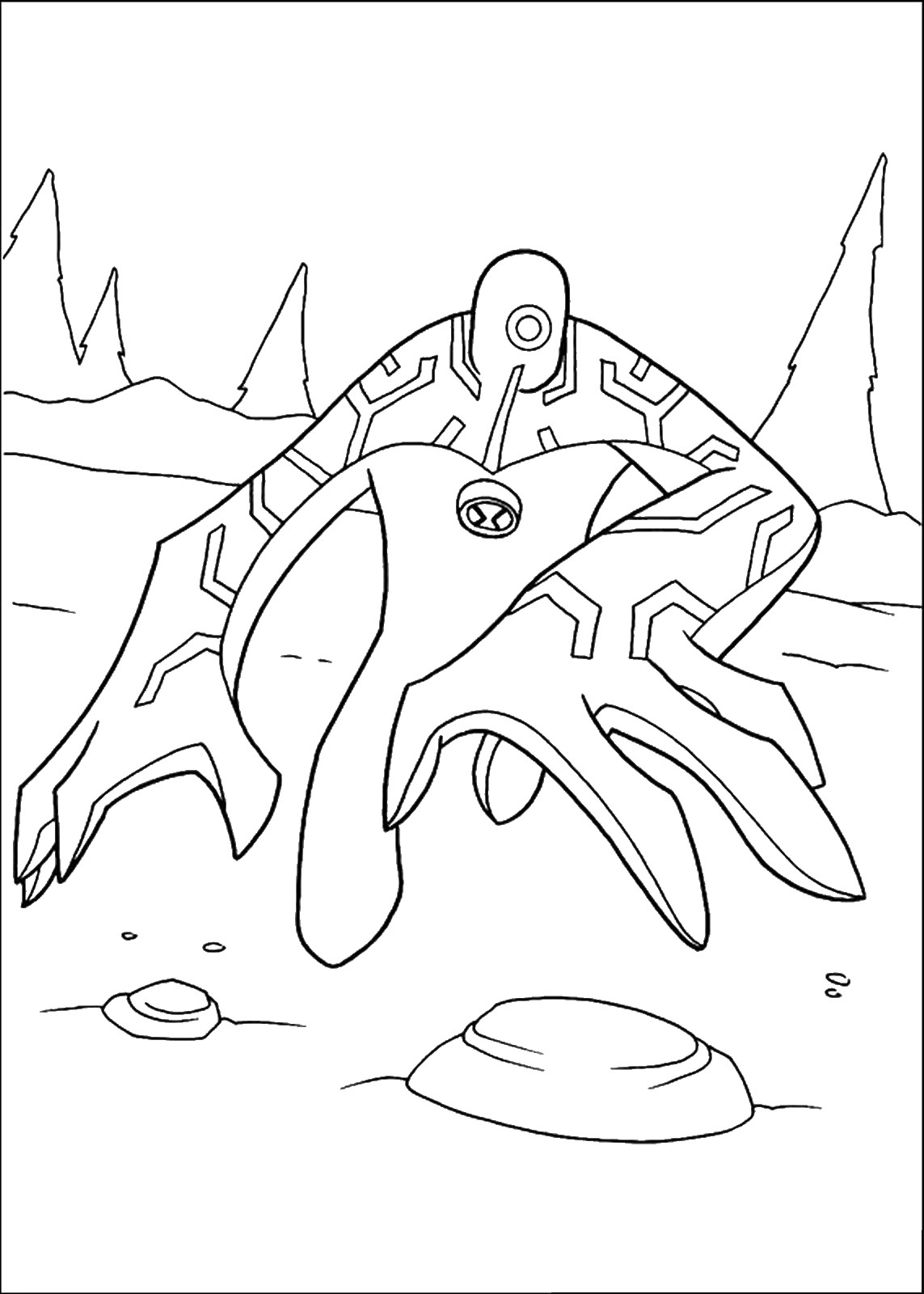 ben10 coloring ben 10 alien force coloring pages at getcoloringscom ben10 coloring