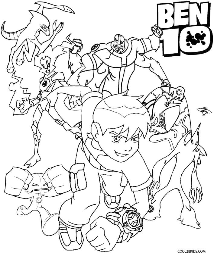 ben10 coloring ben 10 ultimate alien coloring pages for kids coloring home coloring ben10