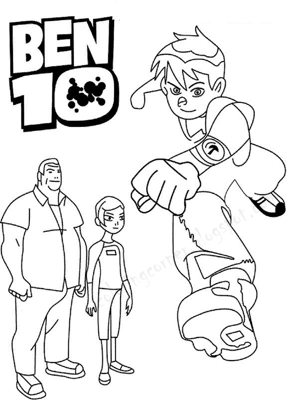 ben10 coloring easy ben 10 rath coloring pages alien force rath colouring coloring ben10