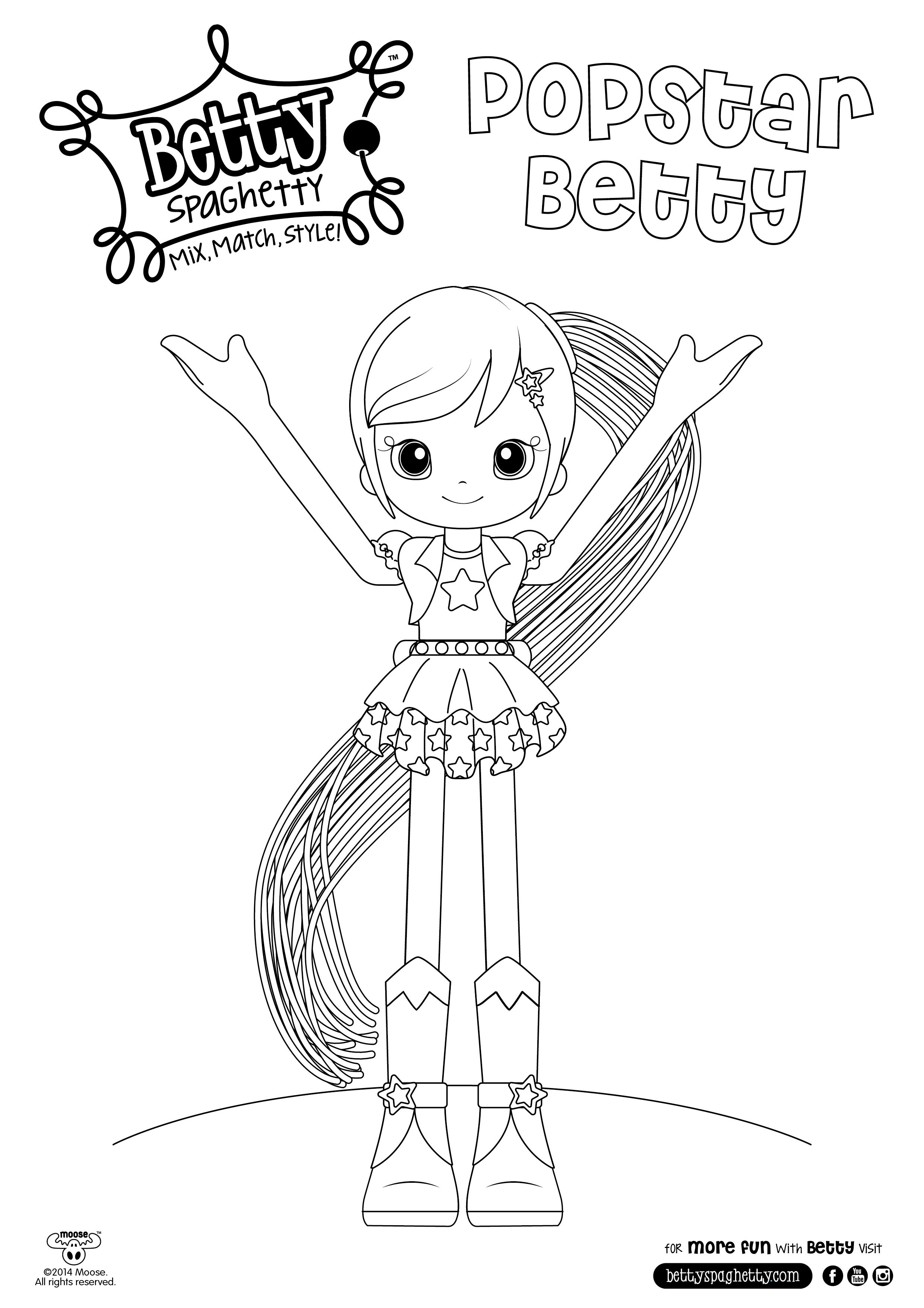 betty spaghetty coloring pages betty spaghetti coloring books betty spaghetty betty spaghetty pages coloring