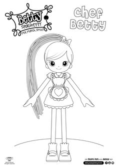 betty spaghetty coloring pages printable coloring pages for kids betty spaghetty 3 coloring pages spaghetty betty