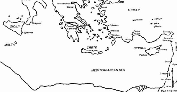 bible map coloring page 35 best bible maps images on pinterest maps holy land coloring map page bible