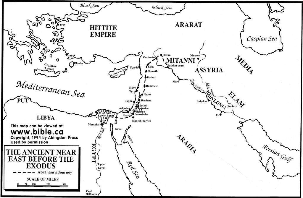 bible map coloring page abram39s journey to canaan bible mapping abraham and lot bible coloring page map