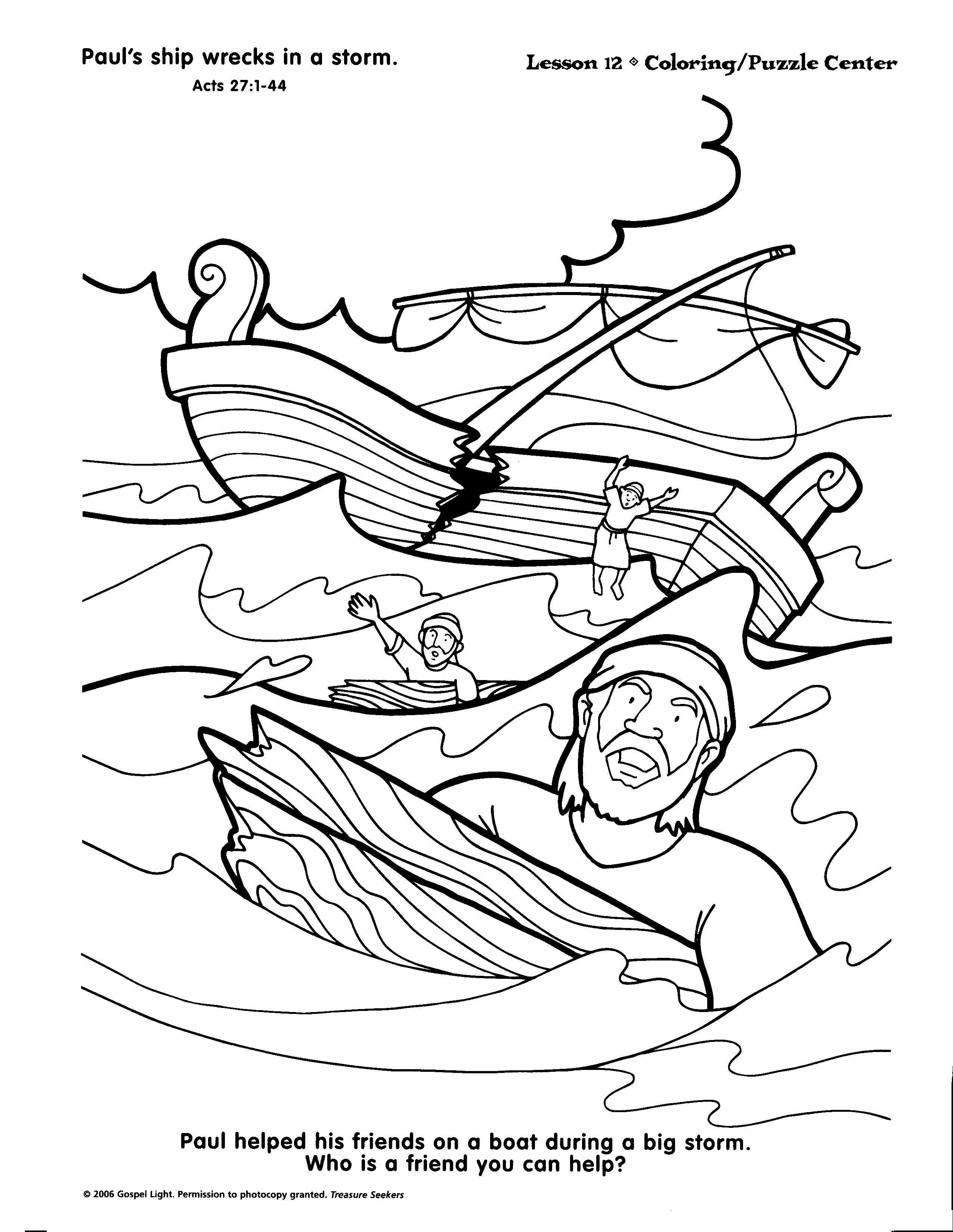 bible ship coloring page bible coloring page mediterranean storm free download page ship coloring bible