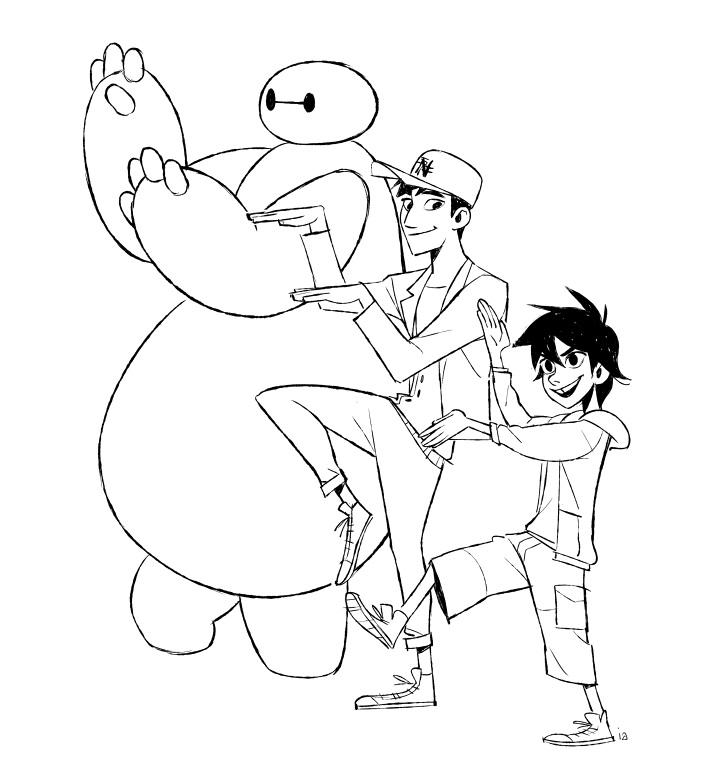 big hero 6 coloring pages 15 awesome big hero 6 coloring pages for kids coloring big pages 6 coloring hero