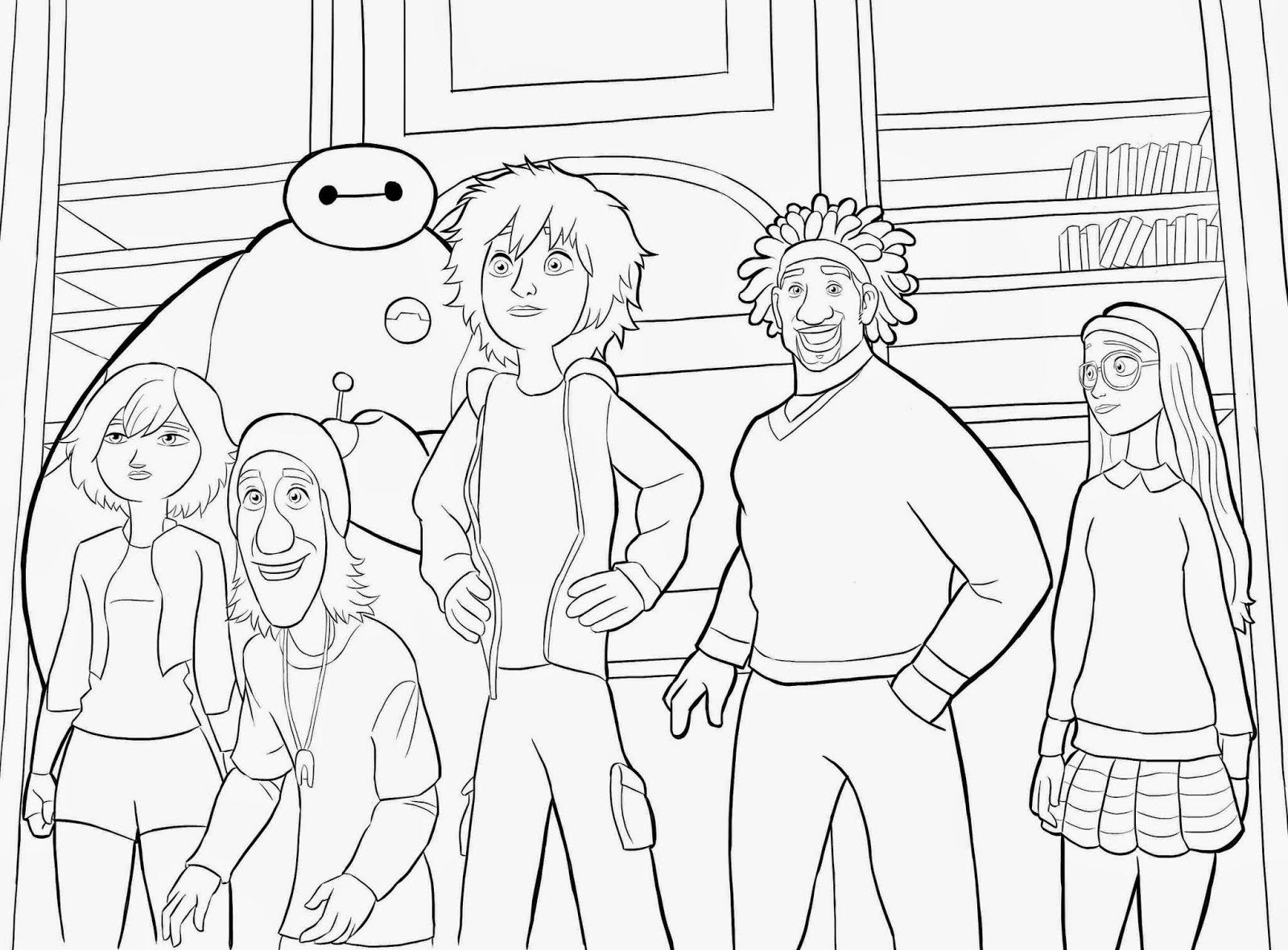 big hero 6 coloring pages coloring pages big hero 6 coloring pages free and printable coloring 6 big hero pages