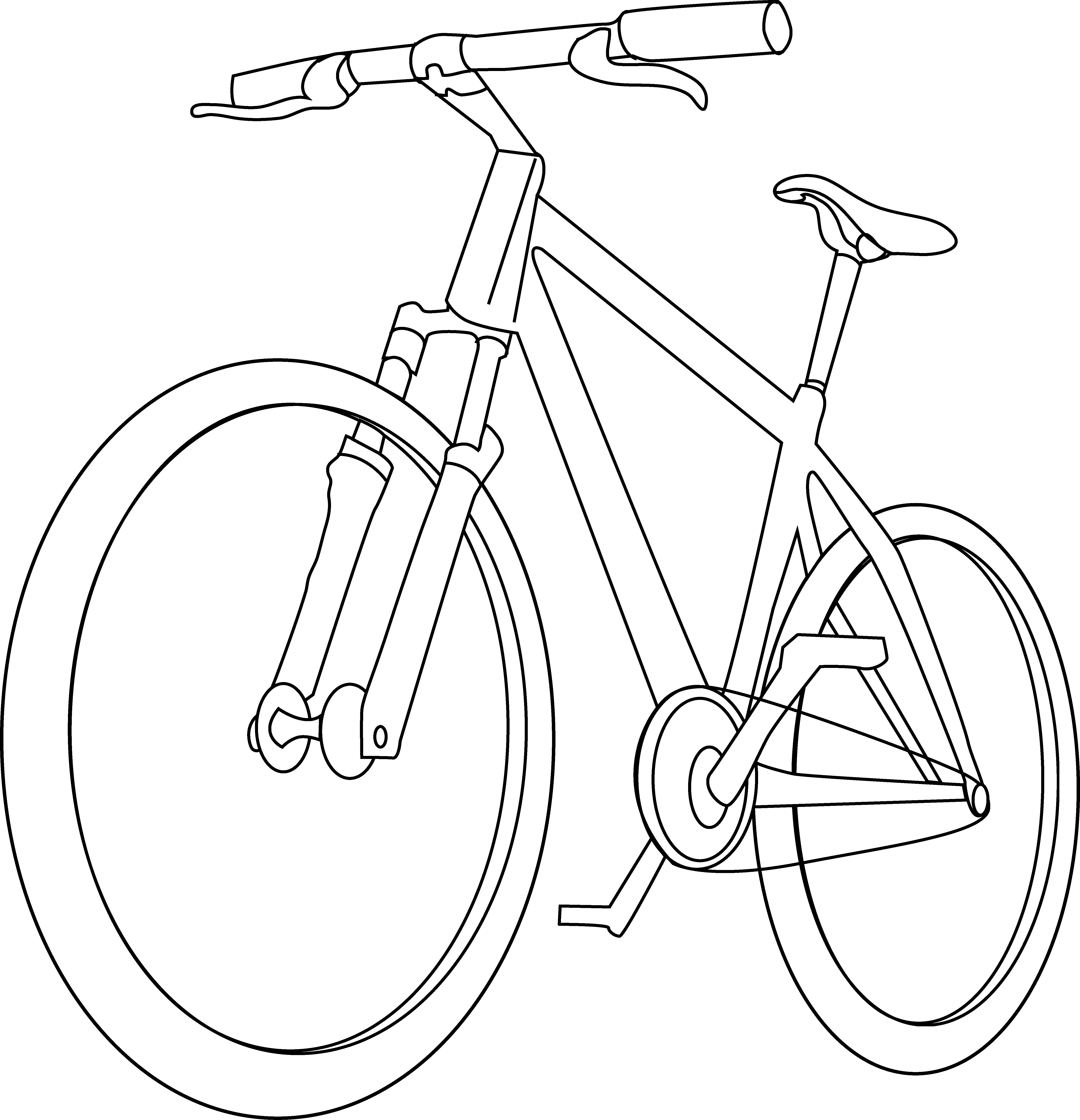 bike coloring page bicycle coloring page free clip art bike page coloring