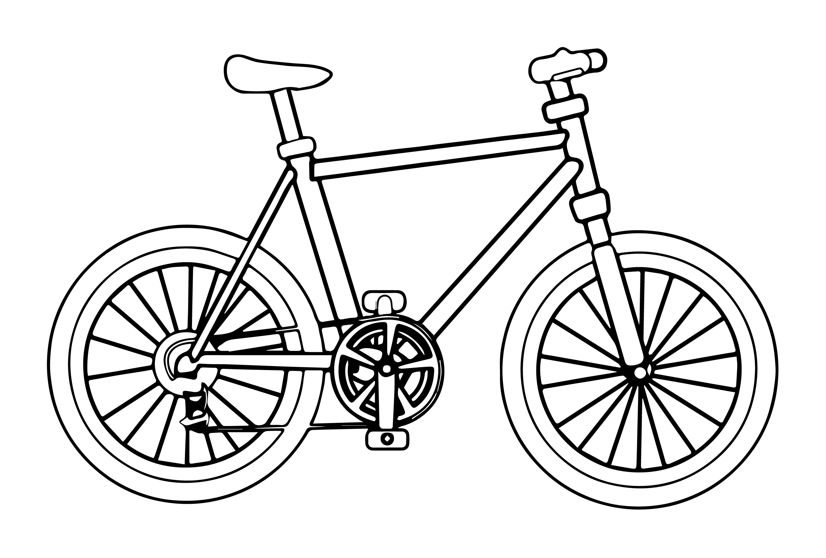 bike coloring page bicycle coloring pages by daniel free printables page coloring bike