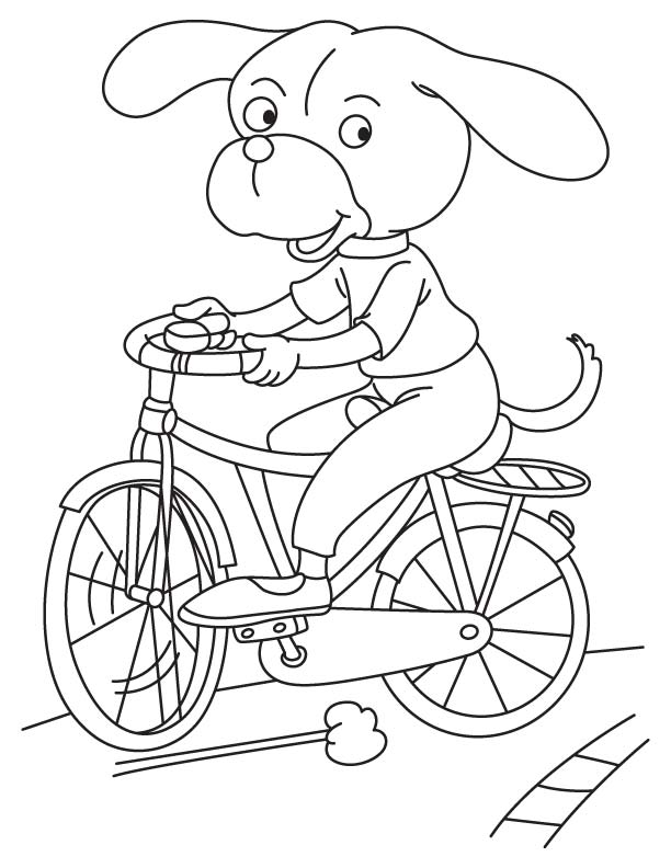 bike coloring page bicycle coloring pages to download and print for free bike coloring page 1 1