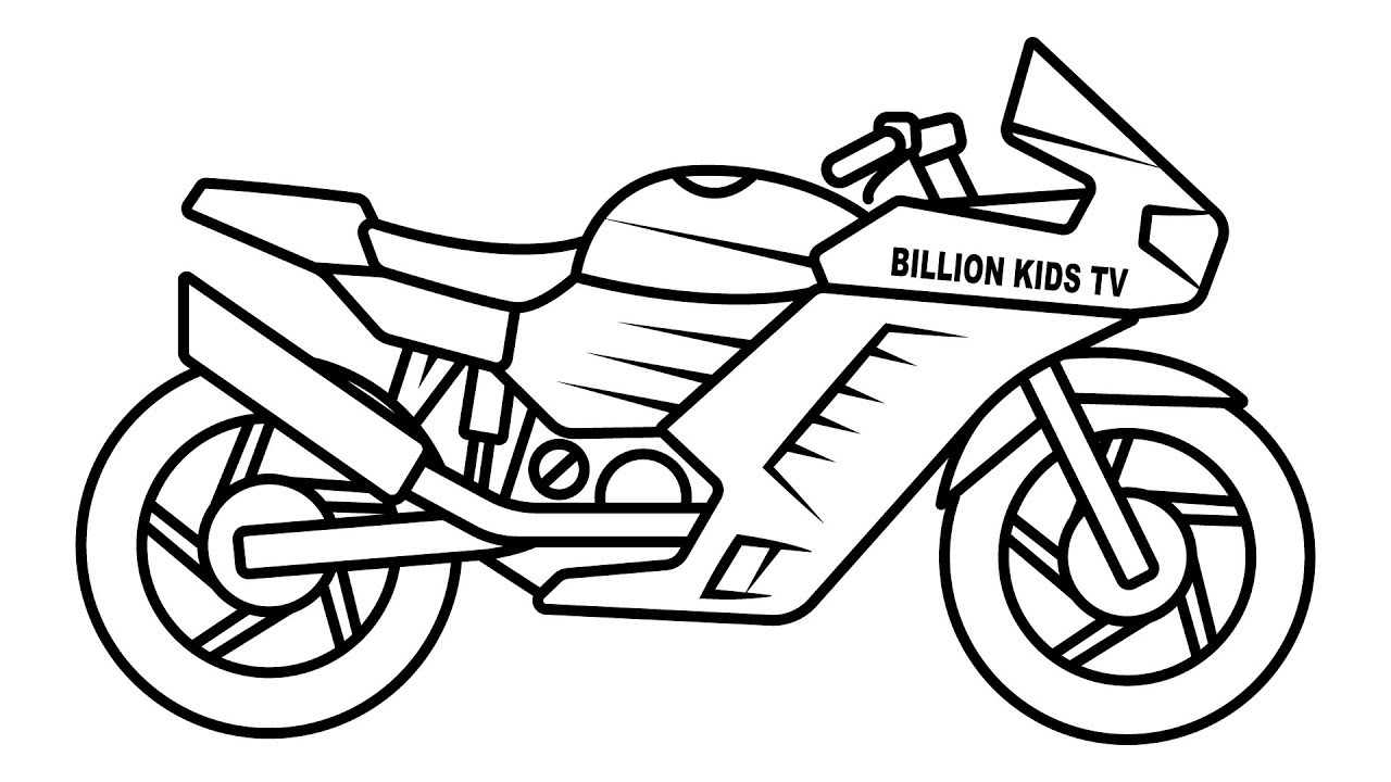 bike coloring page motorcross coloring pages coloring home bike page coloring