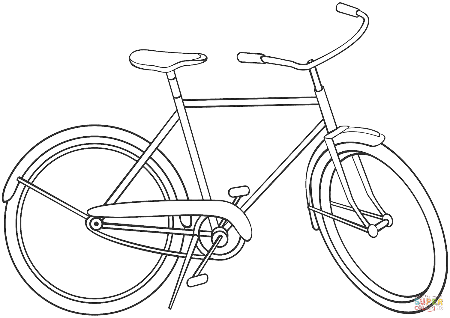 bike coloring page riding bike coloring pages coloring pages cartoon bike coloring page