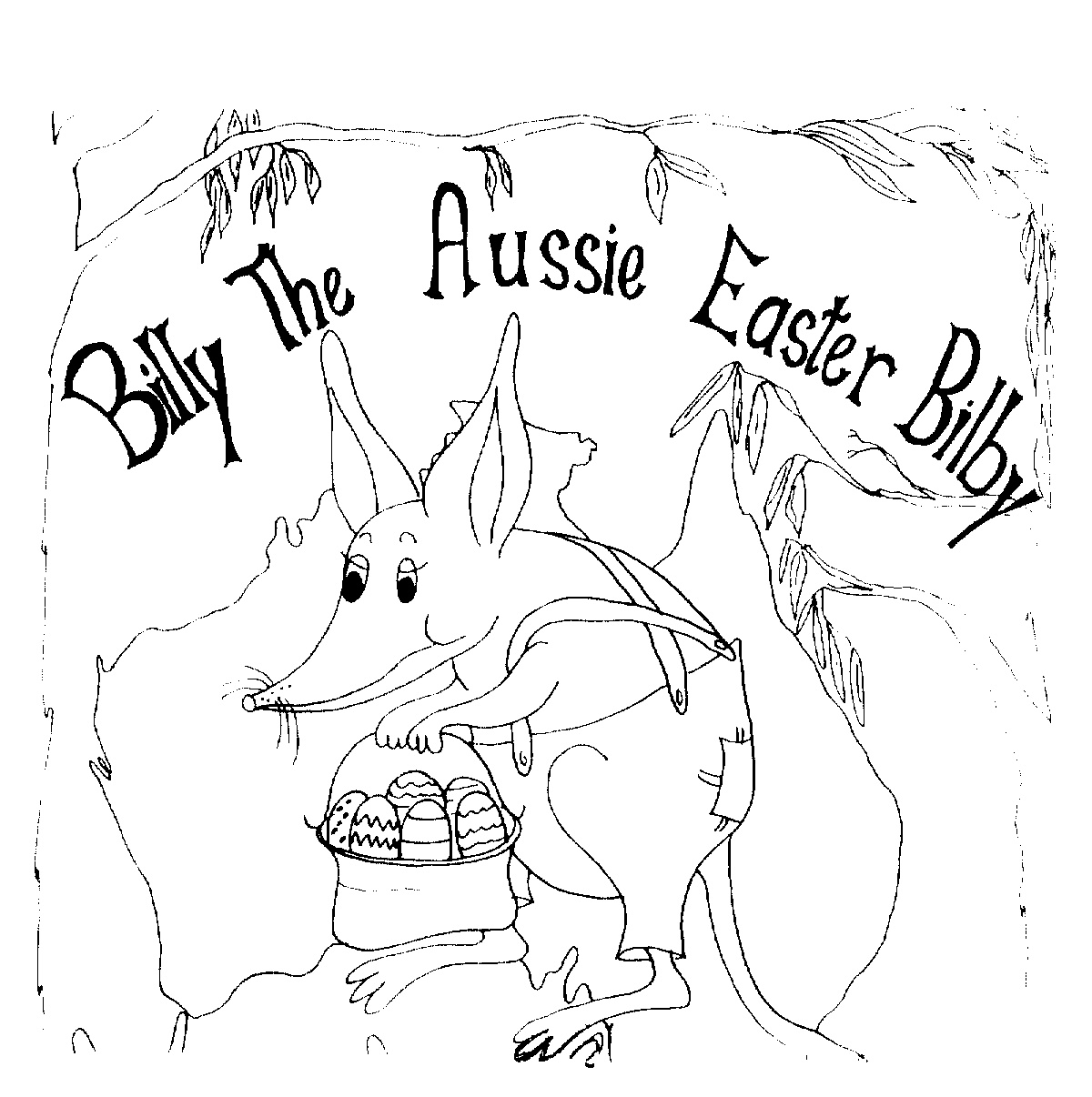 bilby pictures to colour coloring book easter bilby coloring pages more than 44 pictures bilby colour to