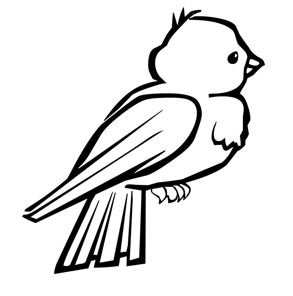 birds to colour and print bird 6 coloring kids and colour to birds print
